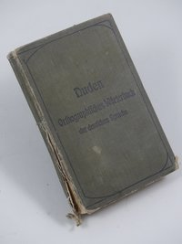 """Wörterbuch & Duden  Provenance/Rights:  Hellweg-Museum Unna (CC BY-NC-SA)"